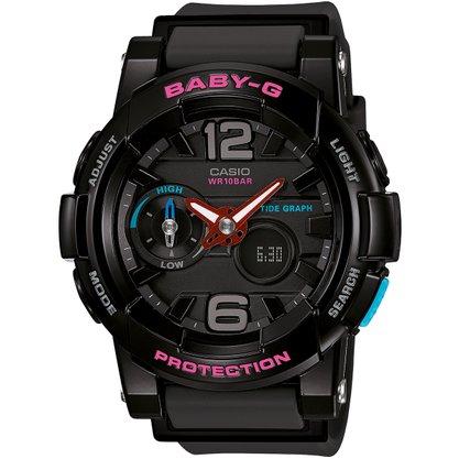 Relógio Baby-G Feminino BGA-180-1BDR Preto