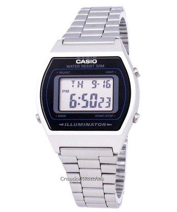 Relógio Casio Vintage B640WD-1AVDF Prata