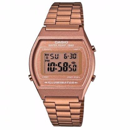 Relógio Casio Vintage Digital B640WC-5ADF Rosê
