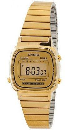 Relógio Casio Vintage LA670WGA-9DF Dourado