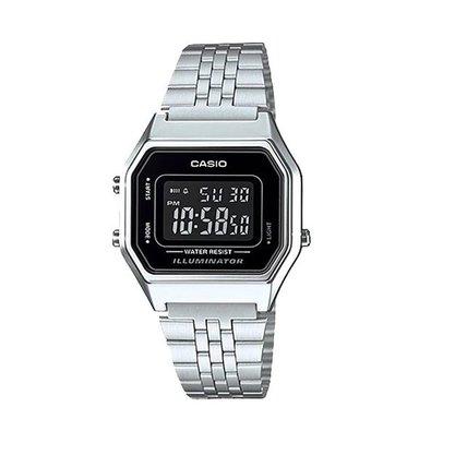 Relógio Casio Vintage LA680WA-1BDF Prata