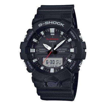 Relógio G-shcok Masculino GA-800-1ADR Preto