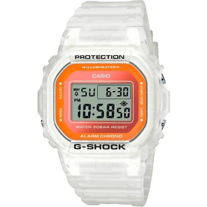 Relógio G-shock DW-5600LS-7DR Transparente