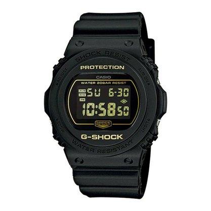 Relógio G-shock DW-5700BBM-1DR Preto/Dourado