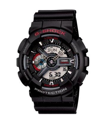 Relógio G-shock GA-110-1ADR Preto/Vermelho