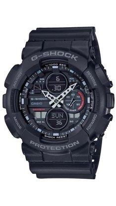Relógio G-shock GA-140-1A1DR Preto/Cinza