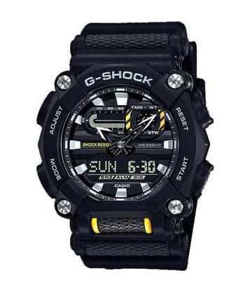 Relógio G-shock GA-900-1ADR Preto/Amarelo