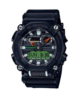 Relógio G-shock GA-900E-1A3DR Preto/Verde