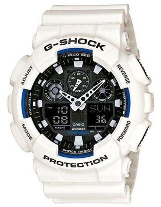 Relógio G-shock Masculino GA-100B-7ADR Branco