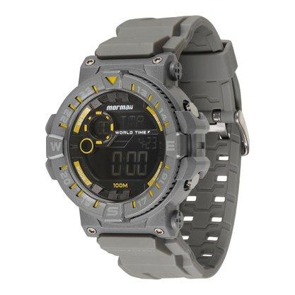 Relógio Masculino Mormaii Digital MOM1131B/8Y Cinza