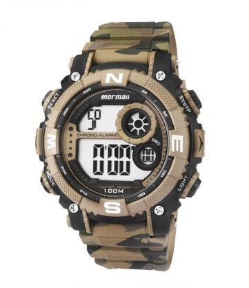 Relógio Mormaii Masculino Digital MO12579A/V Camuflado