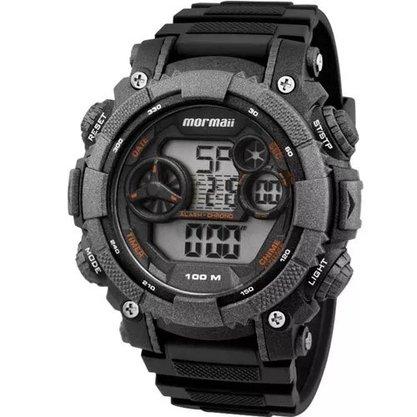 Relógio Mormaii Masculino Digital MO12579B/8Y Chumbo