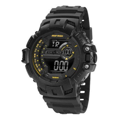 Relógio Mormaii Masculino Digital MO1091N/8Y Preto