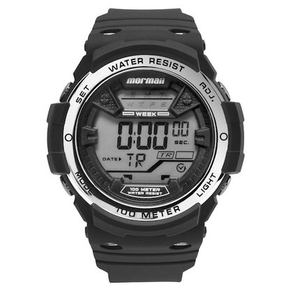 Relógio Mormaii Masculino Wave Digital MO3500B/8K Preto