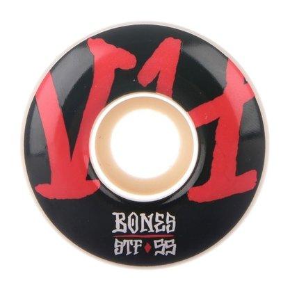 Roda Bones Annuals V4 STF 103A 55mm Preto/Vermelho