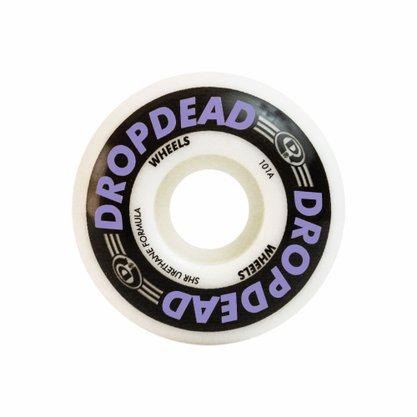 Roda Drop Dead Killer 101A 53mm Branco/Roxo
