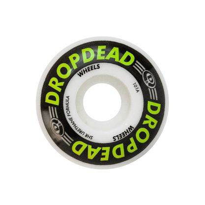 Roda Drop Dead Killer 101A 53mm Branco/Verde