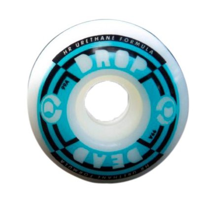 Roda Drop Dead Performance 99A 51mm Branco/Azul