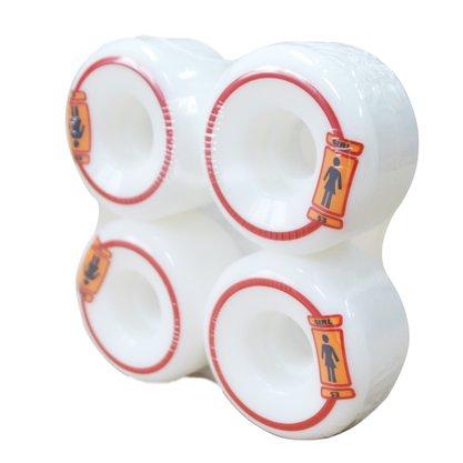 Roda Girl Colors 53mm Branco