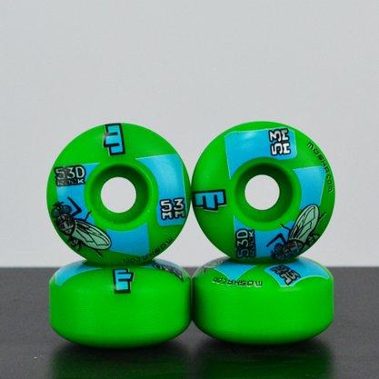 Roda Moska Skate 53D Rock Verde