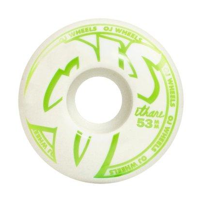 Roda OJ Hard Lines 101A 53mm Branco/Verde