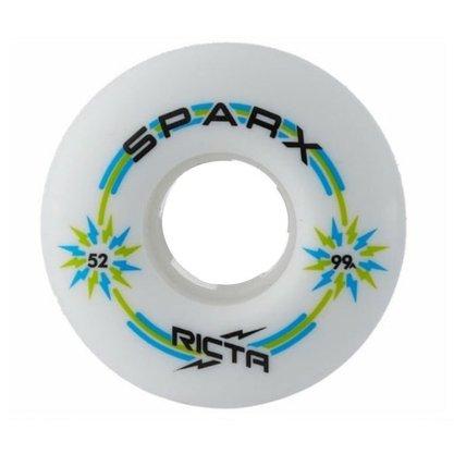 Roda Ricta Sparx 99A 52mm Branco/Verde