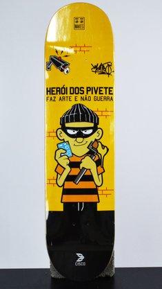 Shape Cisco Marfim Heróis dos Piveten 8.0 Amarelo