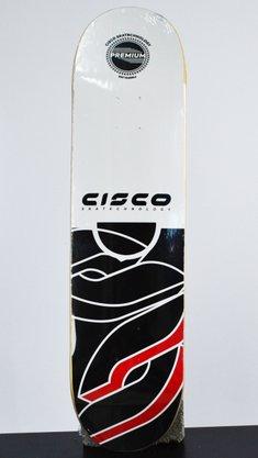 Shape Cisco Marfim Logo Seta I 8.125 Preto/Branco/Vermelho