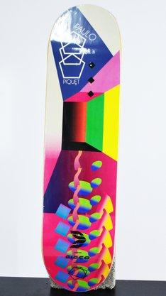 Shape Cisco Marfim Neon Paulo Piquet 8.25 Rosa