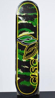 Shape Cisco Marfim Serie Camu 7.75 Preto/Verde