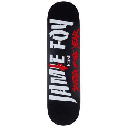 Shape Death Wish Skate Of The Year 8.5 Preto/Vermelho