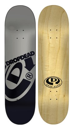 Shape Drop Dead Maple Logo Bigger 8.75 Prata/Preto