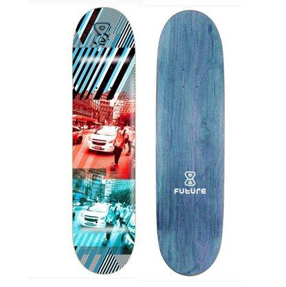 Shape Future City Marfim 7.875 Azul/Vermelho