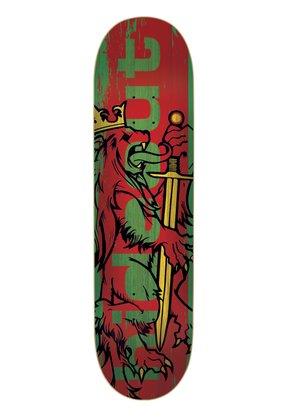 Shape Hideout Rasta Marfim 8.5 Verde/Vermelho