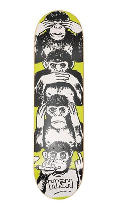 Shape High Company Maple Monkeys 8,0 Amarelo/Preto