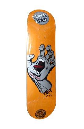 Shape Santa Cruz Powerlyte Screaming Metalic 8.1 Laranja