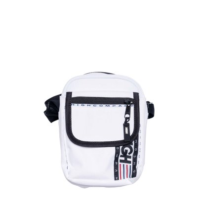 Sholder Bag High Company Logo Branco