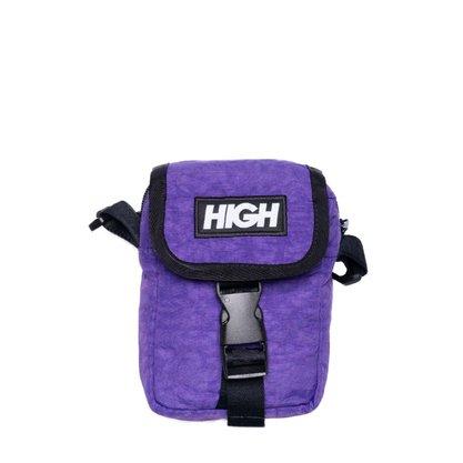 Sholder Bag High Company Logo Roxo