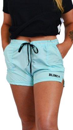 Short Blinca Lazer Azul Claro