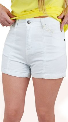 Shorts Billabong Know Me Branco