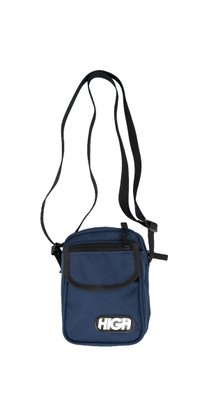 Shoulder Bag High Company Logo Azul
