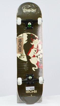 Skate Montado Kronik Scooby-Doo Marrom