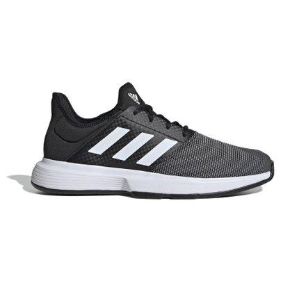 Tênis Adidas Gamecourt Preto/Branco