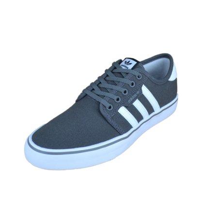 Tênis Adidas Seeley Cinza/Branco