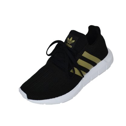 Tênis Adidas Swift Run Preto/Branco