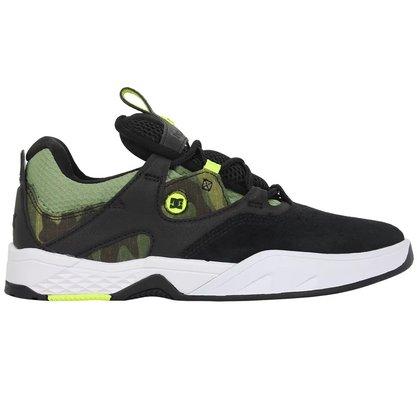 Tênis DC Shoes Kalis SE Preto/Branco/Verde