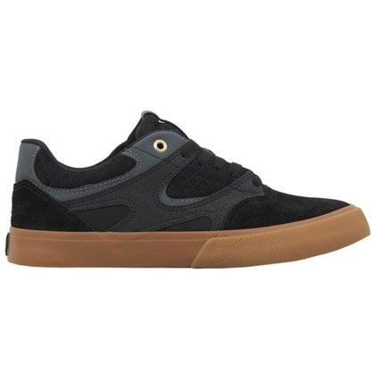 Tênis DC Shoes Kalis Vulc Preto/Gum