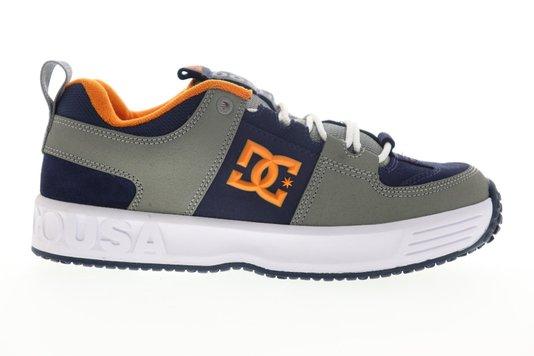 Tênis DC Shoes Lynx OG Cinza/Azul/Laranja
