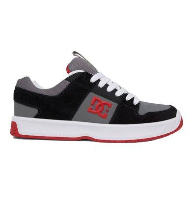 Tênis DC Shoes Lynx Zero Preto/Cinza/Vermelho