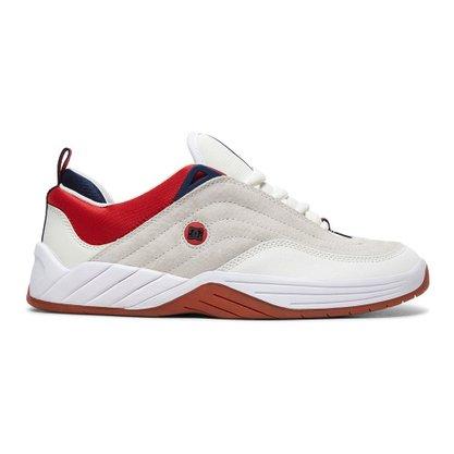 Tênis DC Shoes Williams Slim S Branco/Vermelho/Azul